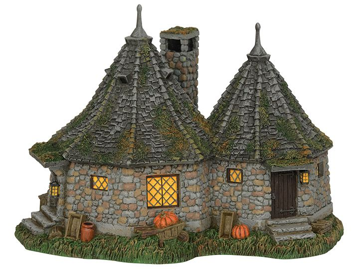 PRÉ VENDA: Miniatura Hagrid's Hut: Harry Potter Village - Department 56, INC.
