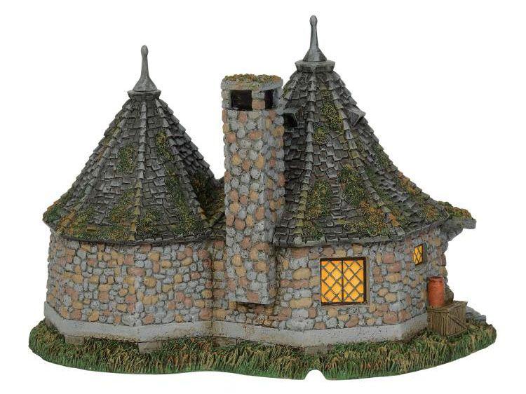 PRÉ VENDA: Miniatura Hagrid's Hut: Harry Potter Village - Department 56, INC.