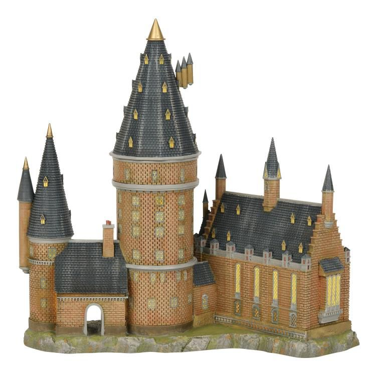 PRÉ VENDA: Miniatura Hogwart's Great Hall & Tower: Harry Potter Village - Department 56, INC.
