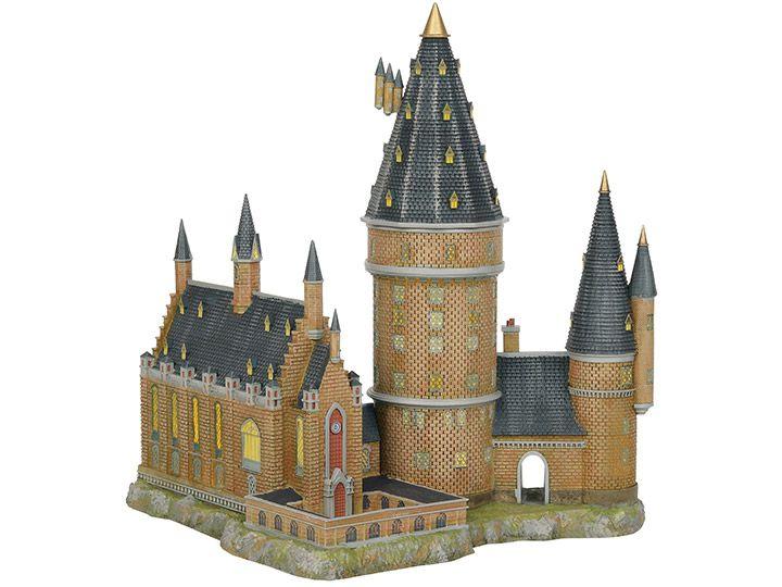 PRÉ VENDA: Miniatura Hogwart's Great Hall & Tower: Harry Potter Village - Department 56, INC.
