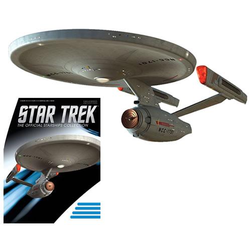 PRÉ VENDA: Miniatura Nave Phase II Enterprise: Star Trek Starships Figurine Collection Magazine #05 - Eaglemoss Publications