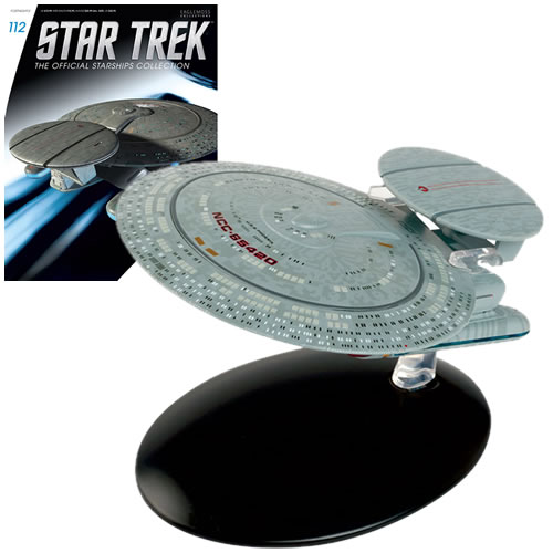PRÉ VENDA: Miniatura Nave USS Phoenix Nebula Class: Star Trek Starships Figurine Collection Magazine #112 - Eaglemoss Publications
