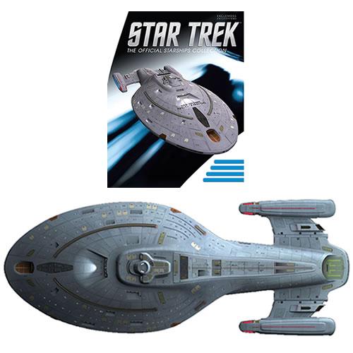 PRÉ VENDA: Miniatura Nave USS Voyager: Star Trek Starships Figurine Collection Magazine #19 - Eaglemoss Publications