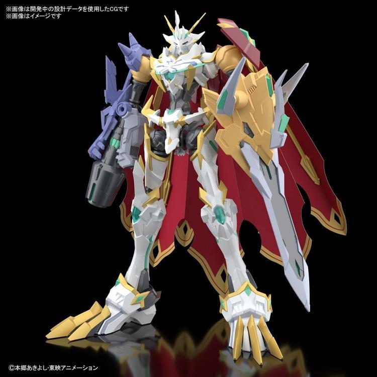 PRÉ VENDA: Model Kit Colecionável Omegamon X-Antibody: Digimon Adventure Tri Standard Amplified - Bandai Spirits