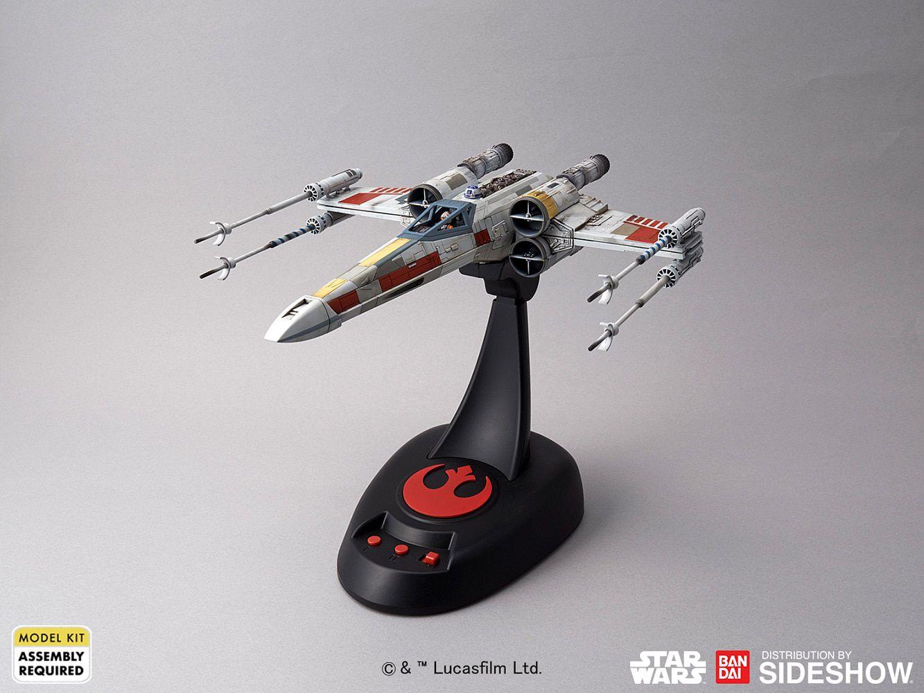 PRÉ VENDA Model Kit X-Wing Starfighter Moving Edition: Star Wars - Bandai