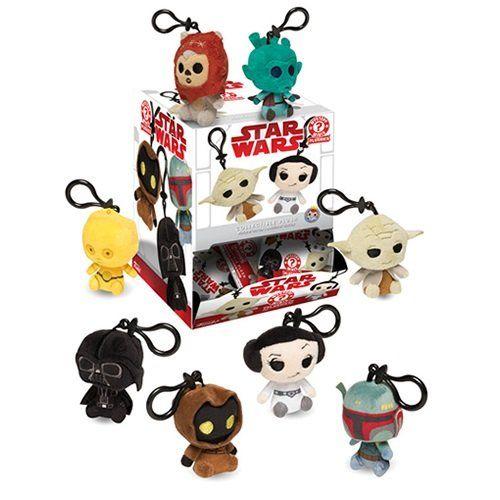 PRÉ VENDA: Mystery Minis Chaveiros Pelúcia: Star Wars - Funko