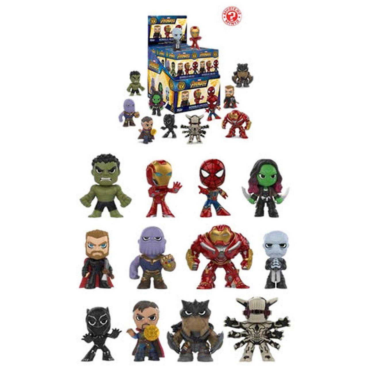 PRÉ VENDA: Mystery Minis! Guerra Infinita (Avengers 3 Infinity War) - Funko
