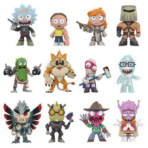 PRÉ VENDA: Mystery Minis: Rick and Morty - Series 02 - Funko