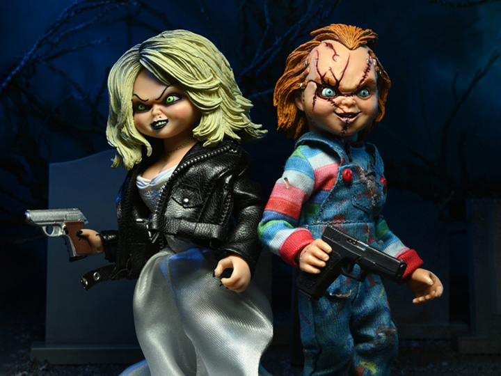 PRÉ VENDA: Pack Action Figure Chucky e Tiffany: A Noiva de Chucky Bride of Chucky - Neca