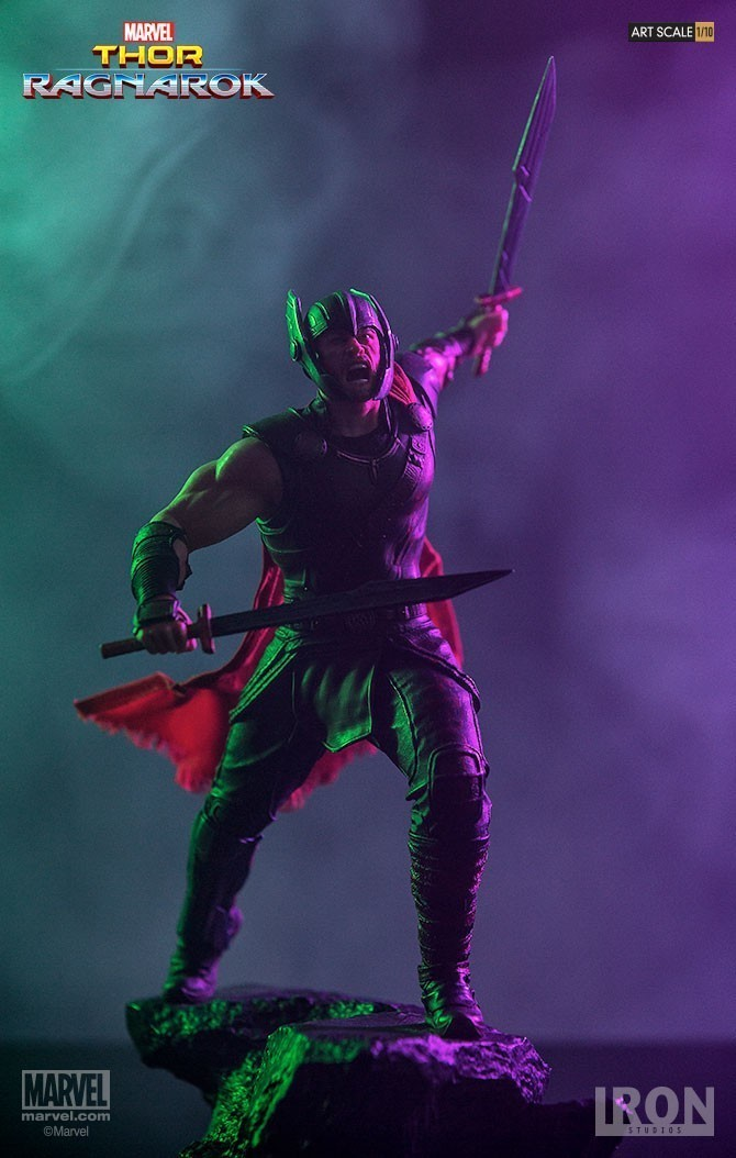 PRÉ VENDA: Pack Diorama Thor Ragnarok Battle Diorama Series Battle Diorama Series (BDS) Art Scale Escala 1/10 - Iron Studios