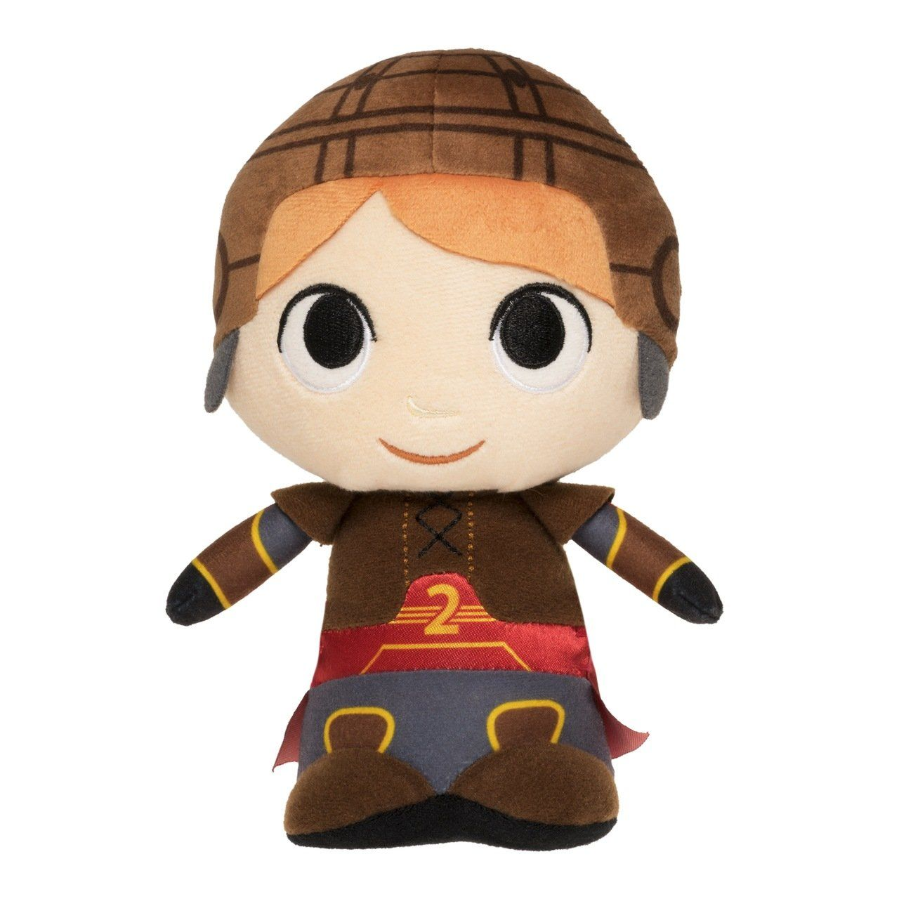 PRÉ VENDA: Pelúcia Ron Weasley Uniforme de Quadribol - Harry Potter - Funko