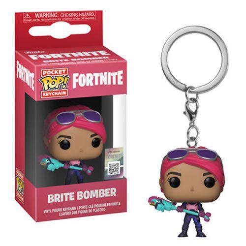 Pocket Pop Keychains (Chaveiro) Brite Bomber: Fortnite - Funko