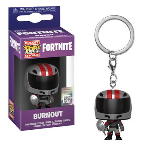 Pocket Pop Keychains (Chaveiro) Burnout: Fortnite - Funko