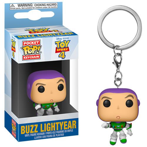 PRÉ VENDA Pocket Pop Keychains (Chaveiro) Buzz Lightyear: Toy Story 4 - Funko