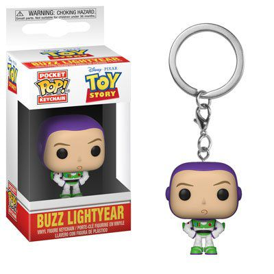 PRÉ VENDA: Pocket Pop Keychains (Chaveiro) Buzz Lightyear: Toy Story - Funko
