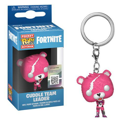 PRÉ VENDA: Pocket Pop Keychains (Chaveiro) Cuddle Team Leader: Fortnite - Funko
