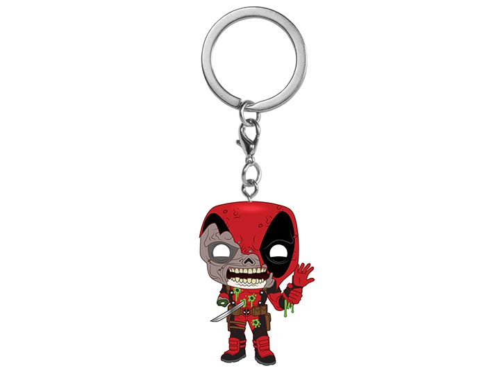 PRÉ VENDA: Pocket Pop Keychains (Chaveiro) Deadpool: Marvel Zombies - Funko