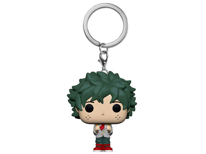 PRÉ VENDA: Pocket Pop Keychains (Chaveiro) Deku (School Uniform): Boku no Hero Academia (My Hero Academia) - Funko