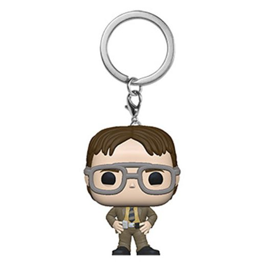 PRÉ VENDA: Funko Pocket Pop Keychains Chaveiro Dwight Schrute: The Office - Funko - EV