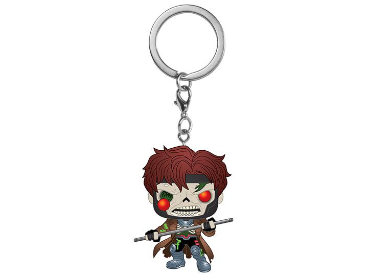 PRÉ VENDA: Pocket Pop Keychains (Chaveiro) Gambit: Marvel Zombies - Funko