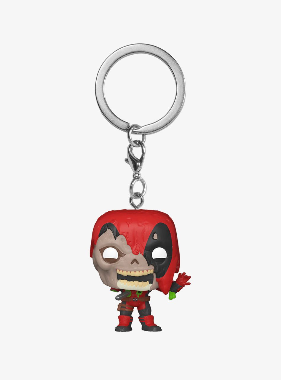PRÉ VENDA: Pocket Pop Keychains (Chaveiro) Marvel Zombies: Deadpool - Funkoween - Funko