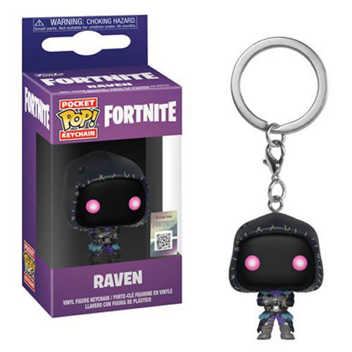 Pocket Pop Keychains (Chaveiro) Raven: Fortnite - Funko