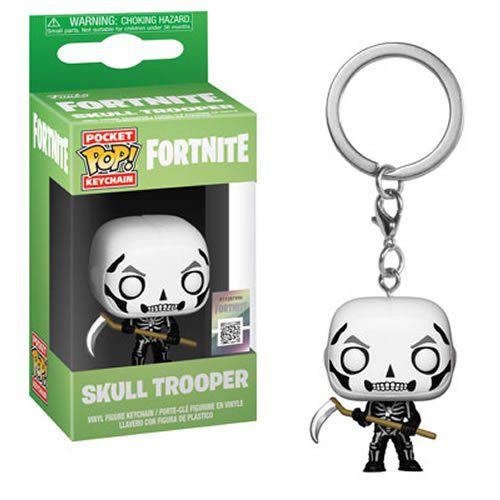 Pocket Pop Keychains (Chaveiro) Skull Trooper: Fortnite - Funko