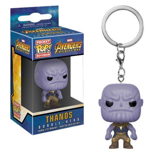 Funko Pocket Pop Keychains (Chaveiro) Thanos: Vingadores (Avengers Infinity War) - Funko