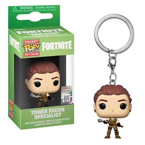 Pocket Pop Keychains (Chaveiro) Tower Recon Specialist: Fortnite - Funko