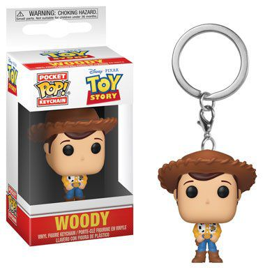 Pocket Pop Keychains (Chaveiro) Woody: Toy Story - Funko