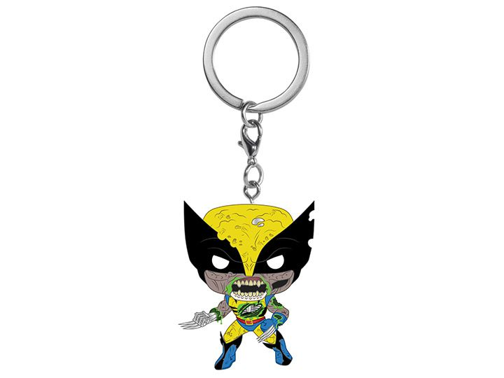 PRÉ VENDA: Pocket Pop Keychains (Chaveiro) Wolverine: Marvel Zombies - Funko