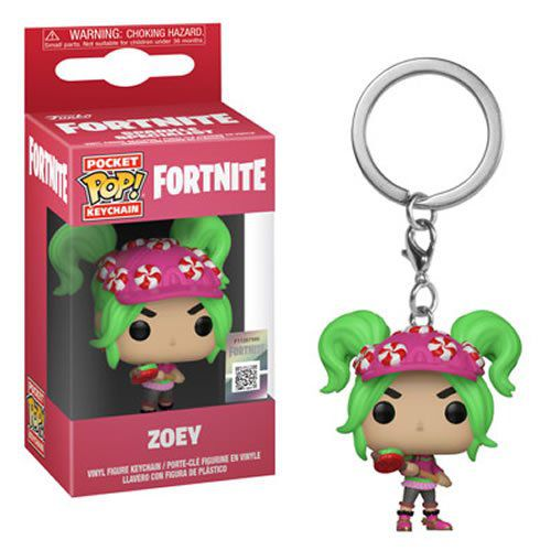 Pocket Pop Keychains (Chaveiro) Zoey: Fortnite - Funko