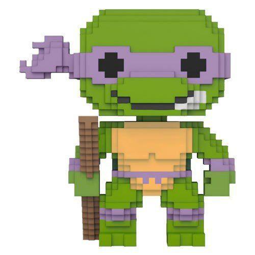 PRÉ VENDA: Funko Pop 8-Bit Donatello: Tartarugas Ninja - Funko