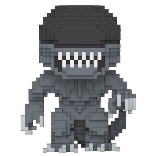 PRÉ VENDA: Funko Pop 8-Bit Horror: Alien - Funko