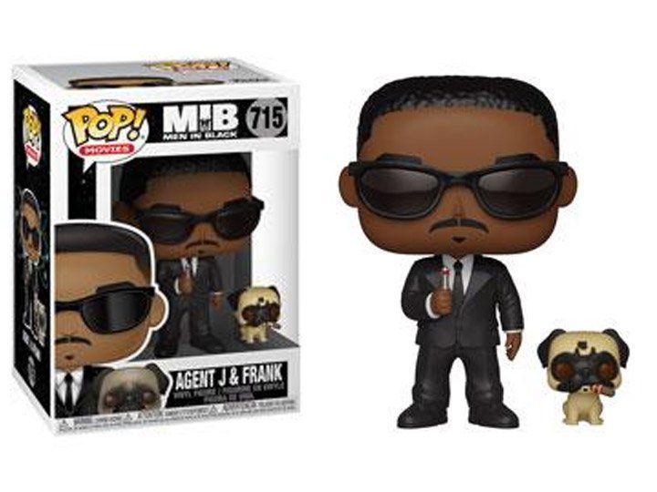 Funko Pop! Agente J & Frank: Homens de Preto (Men in Black - MIB) #715 - Funko