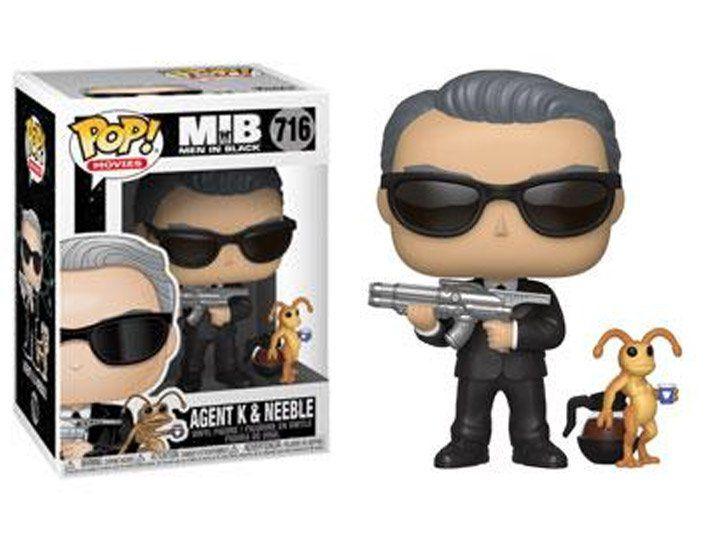 Funko Pop! Agente K & Neeble: Homens de Preto (Men in Black - MIB) #716 - Funko