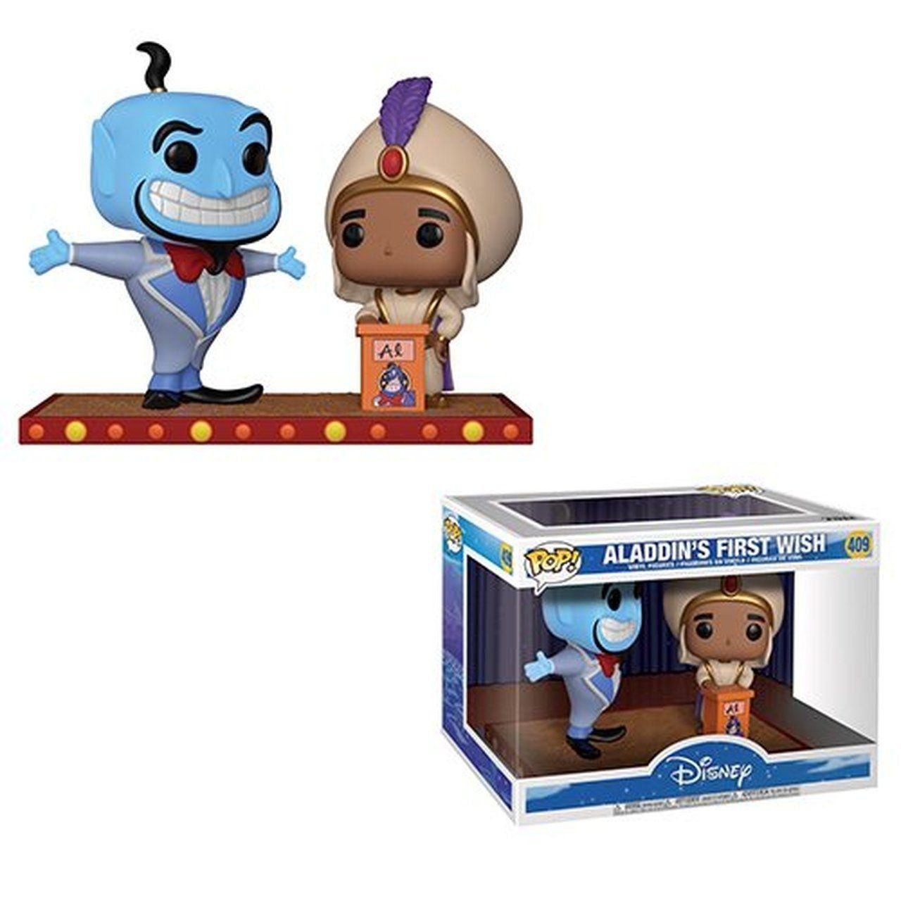 Funko Pop! Aladdin Genie First Wish 2 Pack: Aladdin´s Disney #409 - Funko