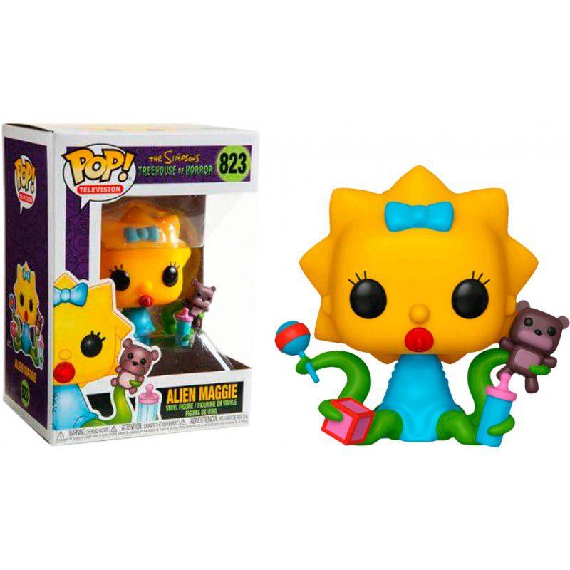 Funko Pop! Alien Maggie: The Simpsons (Treehouse of Horror) #823 - Funko