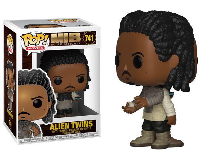 PRÉ VENDA: Funko Pop! Alien Twins: Homens de Preto (Men in Black - MIB) #741 - Funko
