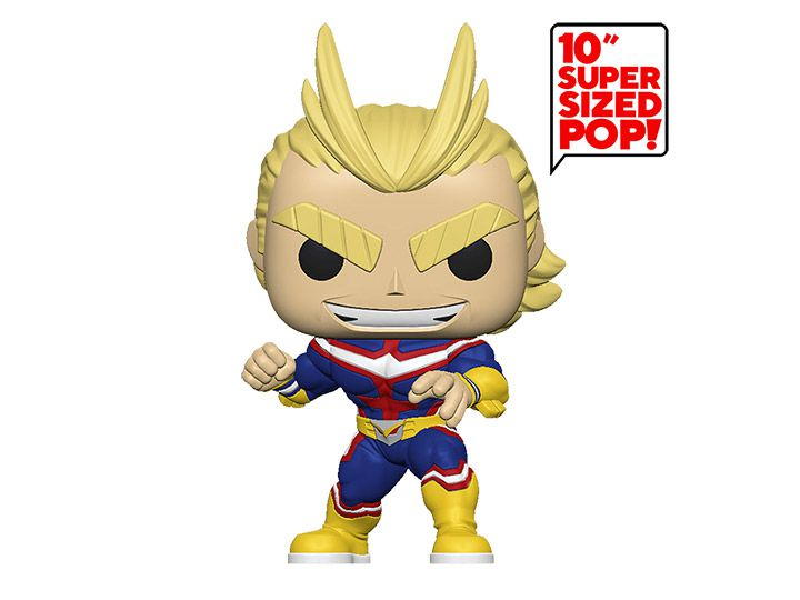 PRÉ VENDA: Pop! All Might (Super Sized 10