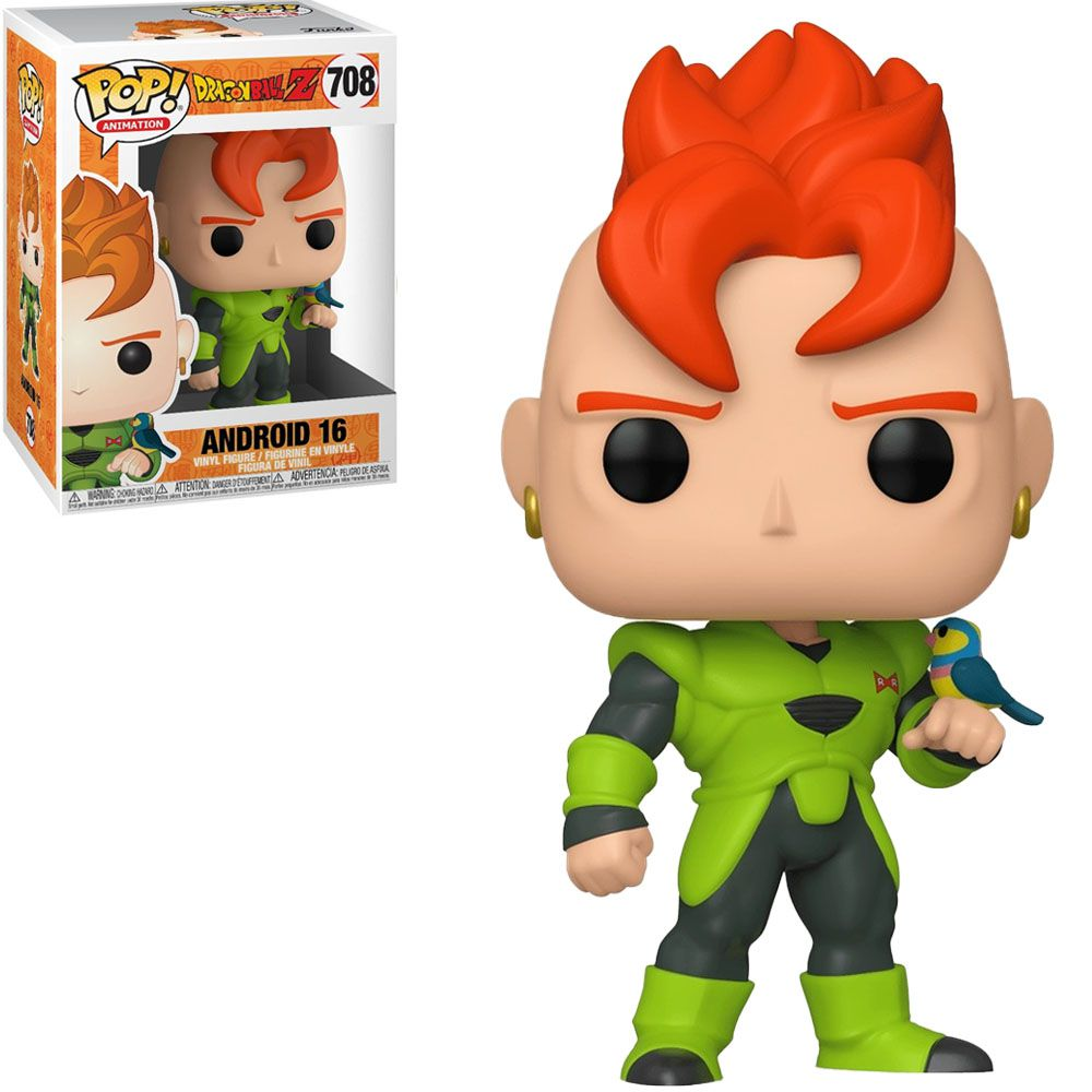 Funko Pop! Android 16: Dragon Ball Z #708 - Funko