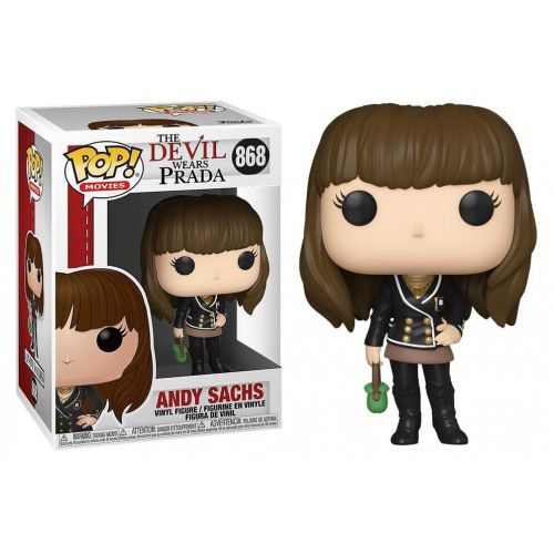 Funko Pop! Andy Sachs: O Diabo Veste Prada (The Devil Wears Prada) #868 - Funko