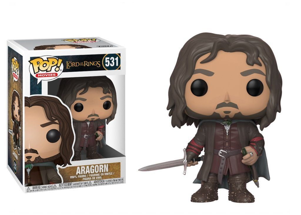 Funko Pop! Aragorn: O Senhor Dos Anéis The Lord Of The Rings #531 - Funko