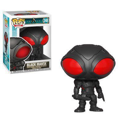 Funko Pop! Arraia Negra (Black Manta): Aquaman #248 - Funko