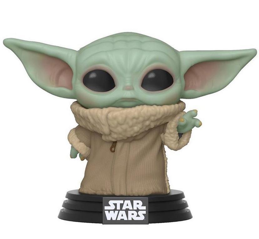 Funko Pop! Grogu ''Baby Yoda'' (The Child): The Mandalorian (Star Wars) Disney #368 - Funko