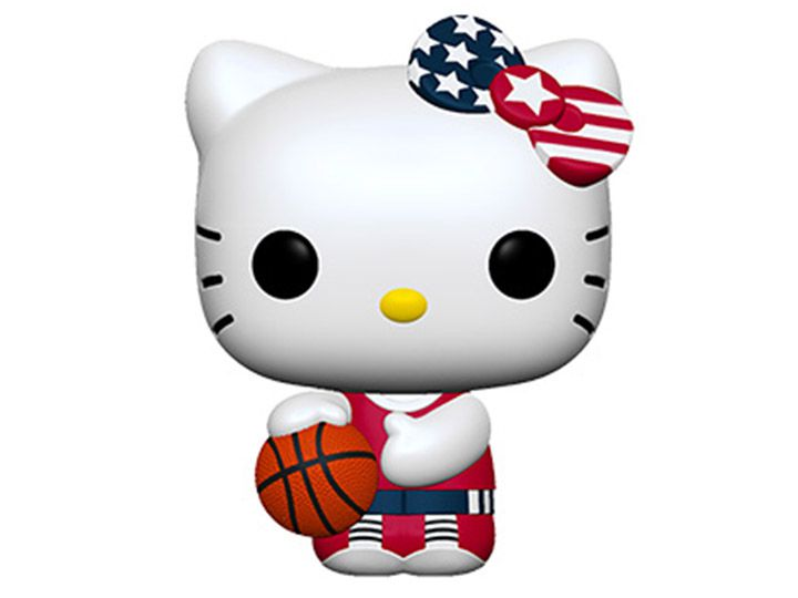 PRÉ VENDA: Funko Pop! Basketball Hello Kitty: Hello Kitty Sports - Funko