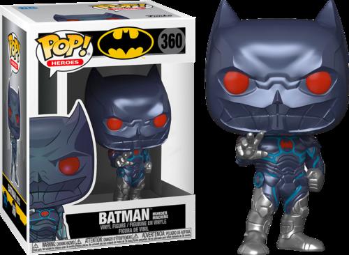 Funko Pop! Batman Maquina da Morte: (Batman Murder Machine) DC Comics #360 - Funko