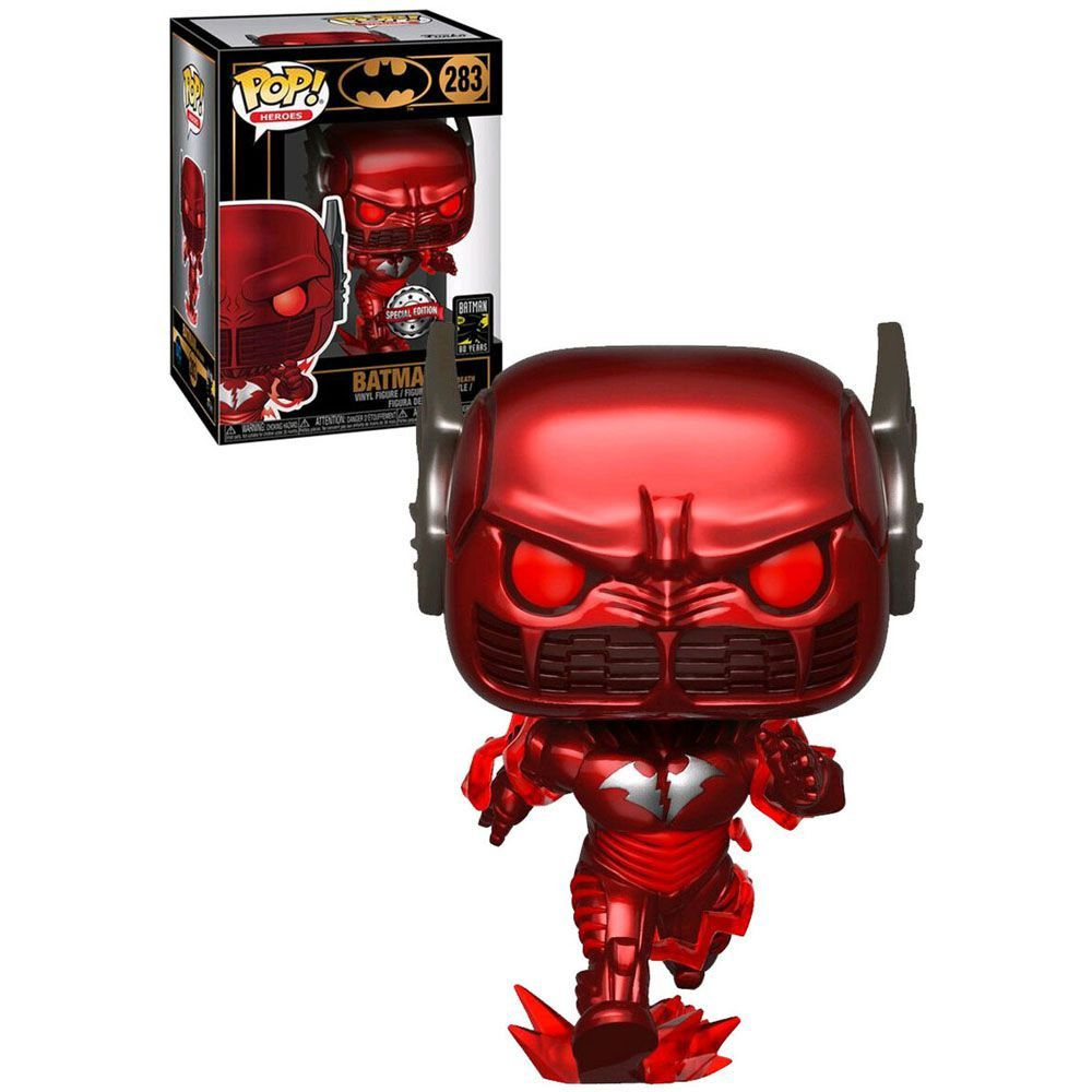 Funko Pop! Batman Red Death: Batman 80th Anniversary (Exclusivo) #283 - Funko