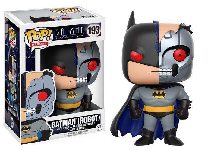 Funko Pop Batman (Robot): Batman the Animated Series #193 - Funko