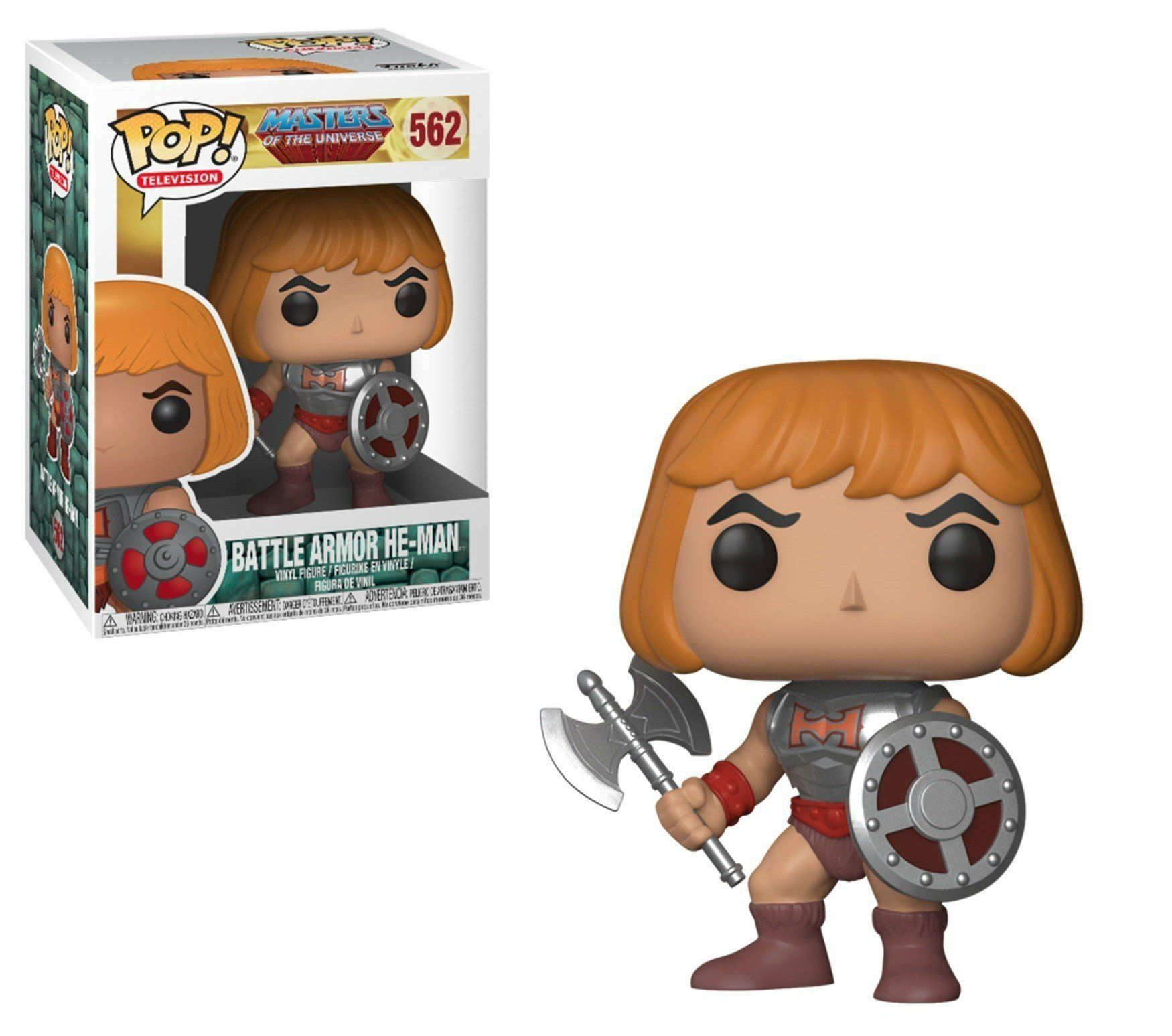 Funko Pop Battle Armor He-Man: Masters Of The Universe #562- Funko